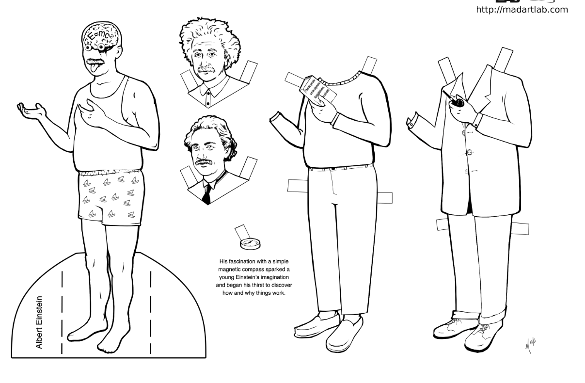1207x790 Scientist Paper Dolls Engage Their Minds