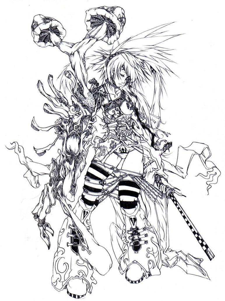 772x1034 Wonderland Alice By Muju