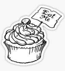 210x230 Alice Wonderland Cake Drawing Stickers Redbubble