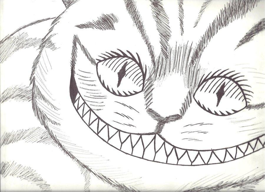 900x654 Chesire Cat Alice In Wonderland By Kira Tsukiko