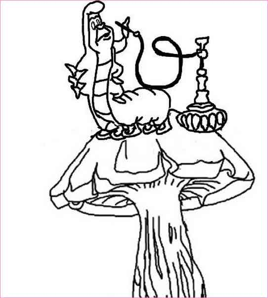 542x602 Alice In Wonderland Outline Drawing