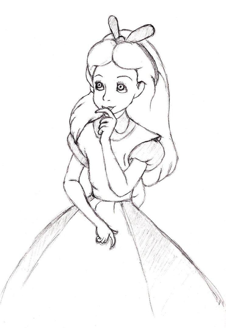 743x1076 Alice Wonderland By Nippoten