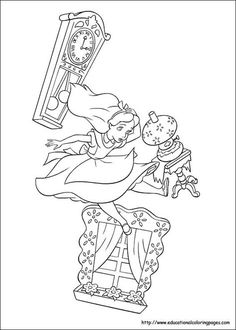 236x330 Mad Hatter, The Mad Hatter Was Having A Tea Party Coloring Page