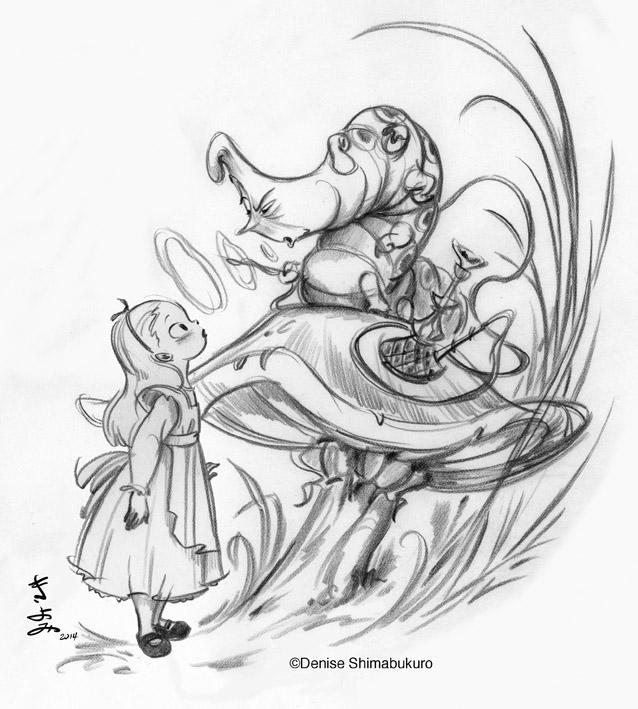638x709 Denise's Drawing Board Illustrators I Like Alice