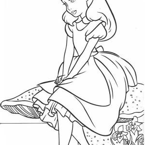 300x300 Alice In Wonderland Cartoon Drawing