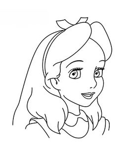 261x338 How To Draw Alice In Wonderland