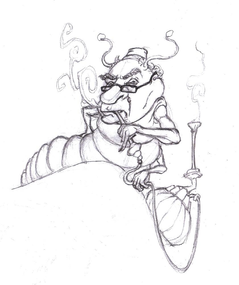 840x1000 Magellin Blog Hookah Smoking Caterpillar