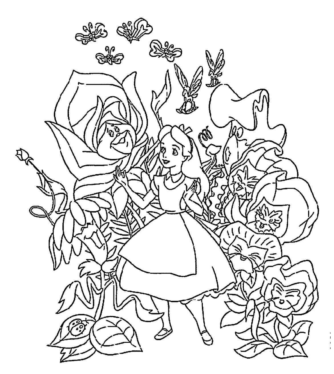 1171x1308 How To Draw Alice In Wonderland Caterpillar