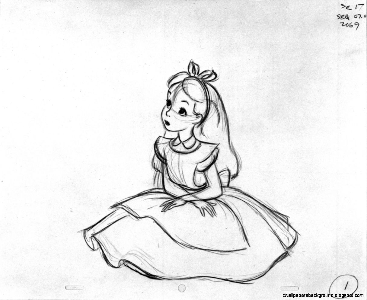 1216x994 Alice In Wonderland Drawings Tumblr Wallpapers Background