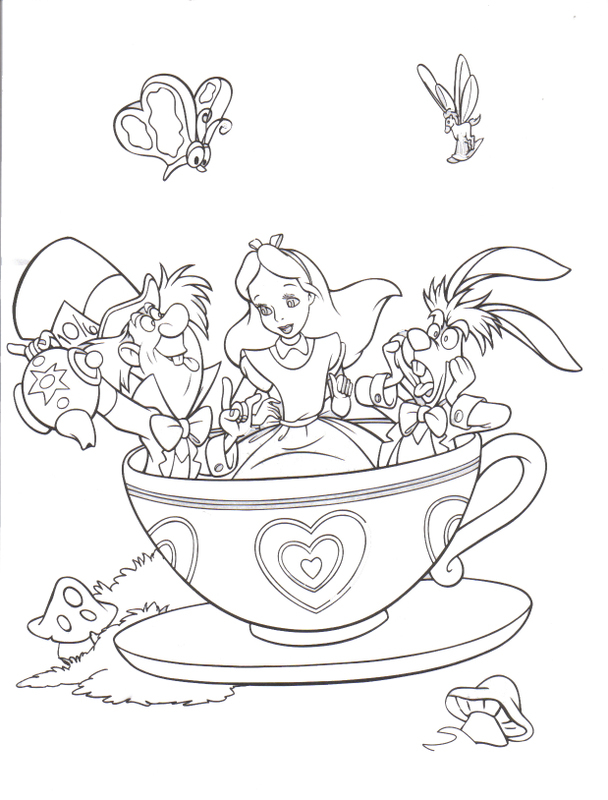 Alice In Wonderland Mad Hatter Drawing