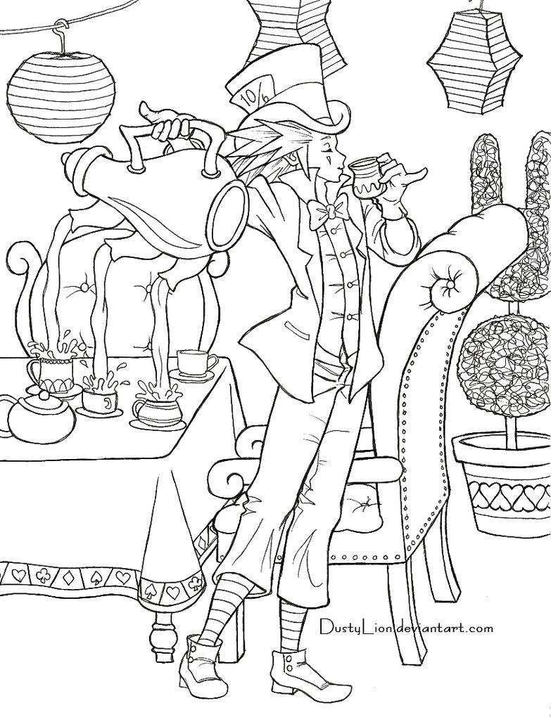 783x1020 Axel The Mad Hatter By Dustylion