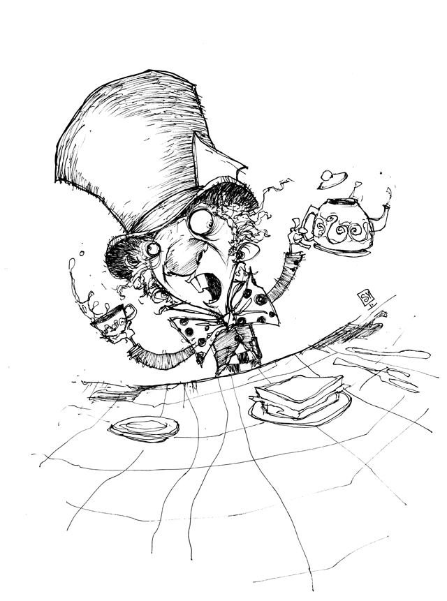 640x861 Mad Hatter By Skottieyoung