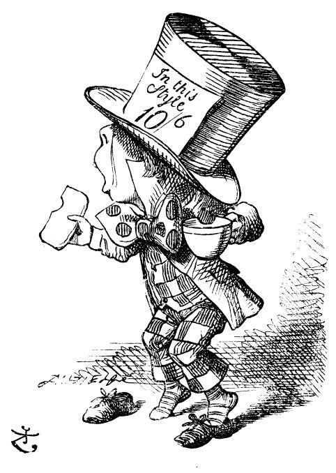 482x678 Sir John Tenniel's Classic Illustrations Of Alice's Adventures