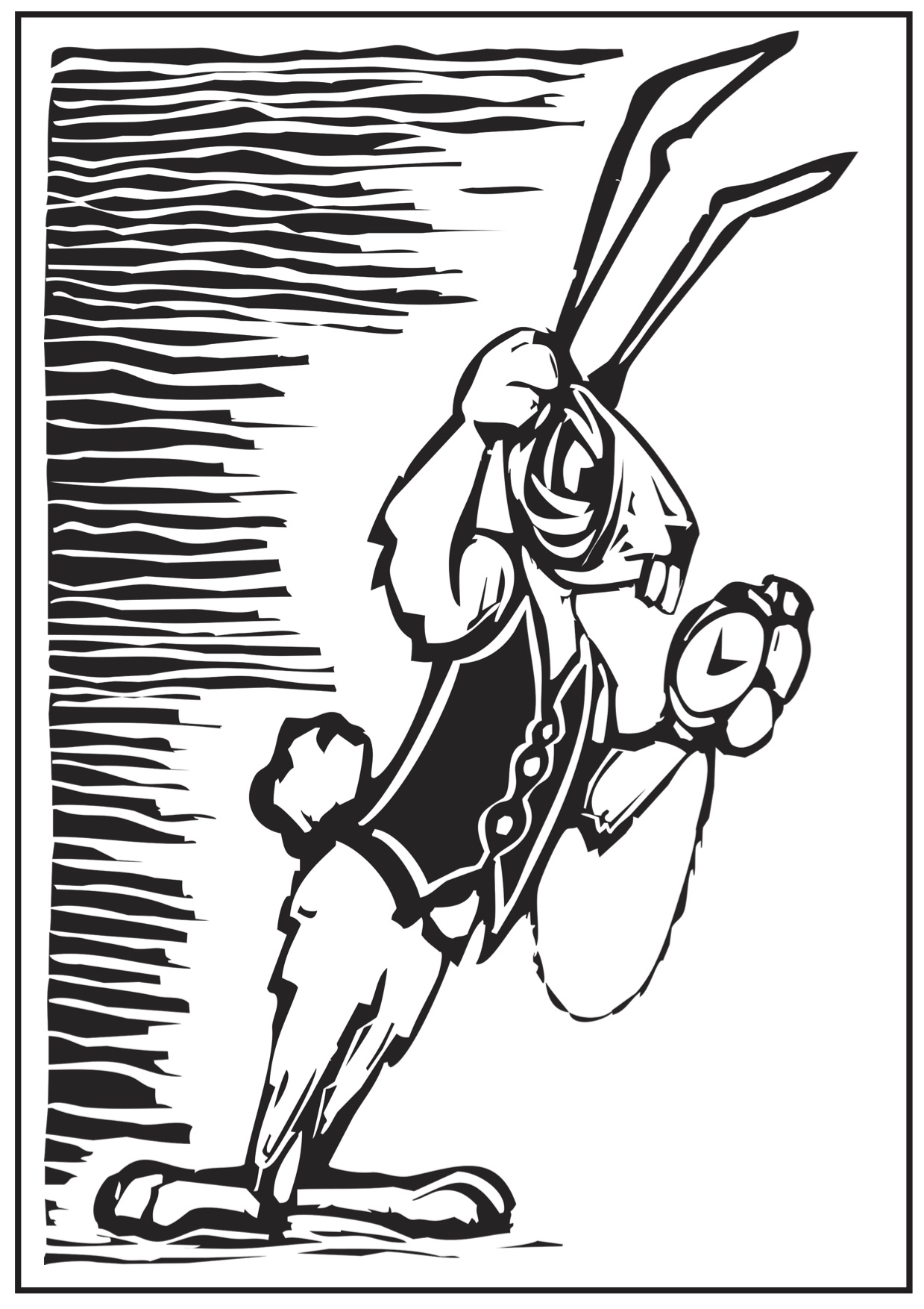 1239x1754 Alice In Wonderland Coloring Pages