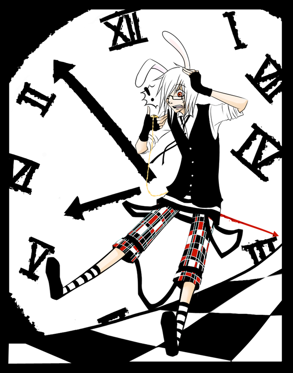 600x764 The White Rabbit By Naimane