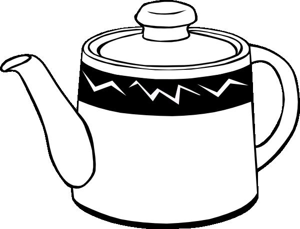 600x459 Drawn Teapot Clip Art