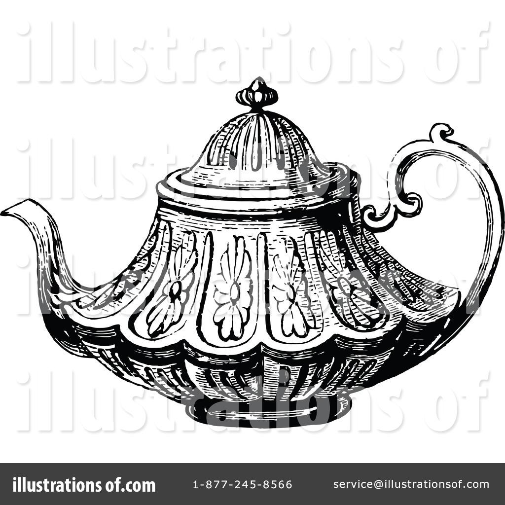 1024x1024 Tea Pot Clipart