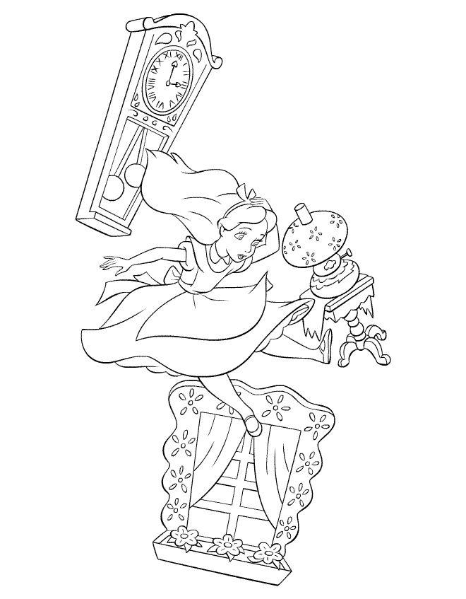 660x847 Drawn Alice In Wonderland The Rabbit Hole Drawing