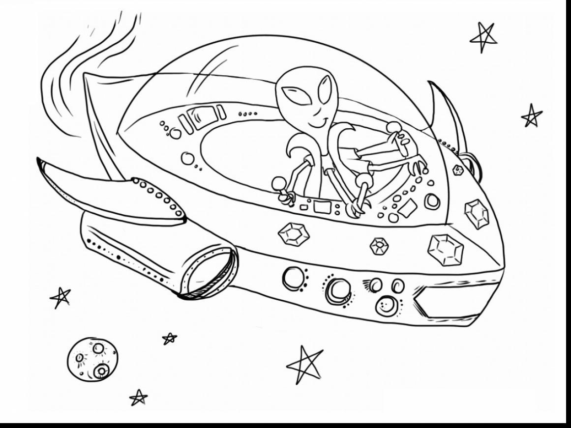 Alien Ship Drawing At GetDrawings.com