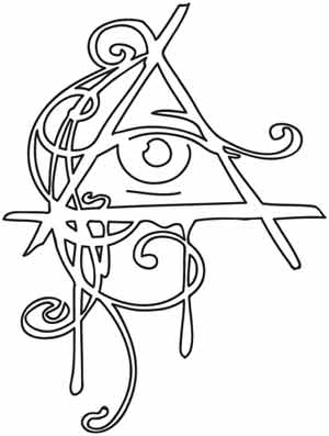 300x397 All Seeing Eye Design (Uth1388) From Dark Side