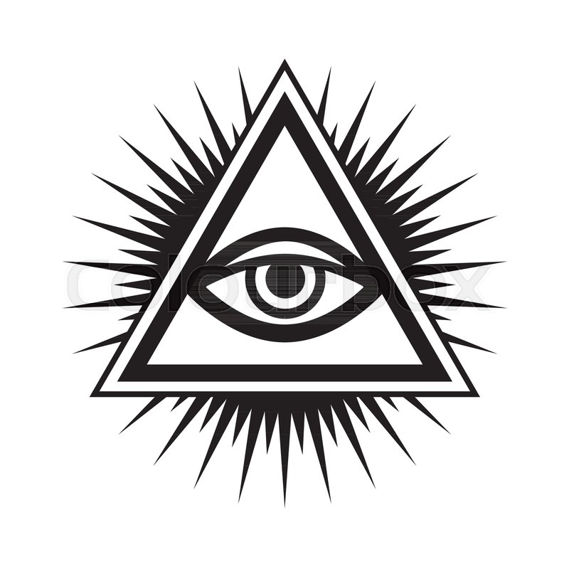 800x800 All Seeing Eye Of God (The Eye Of Providence Eye Of Omniscience