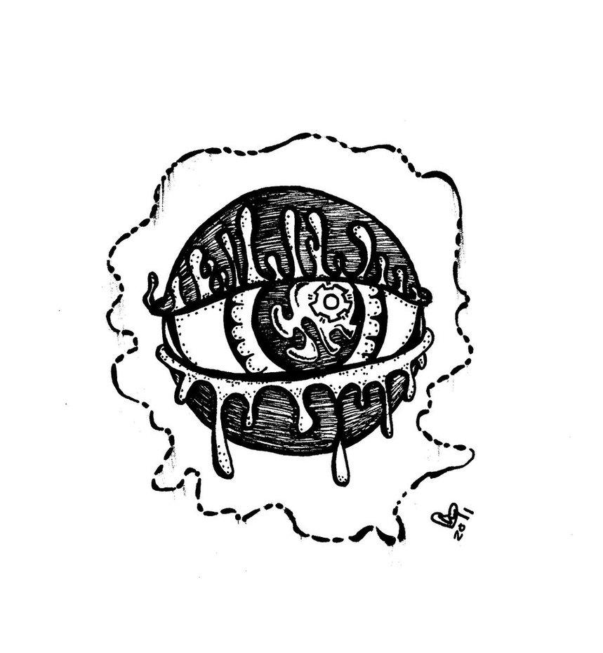 859x930 All Seeing Eye By Sapphirestarflake