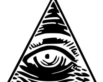 340x270 All Seeing Eye Decal Etsy