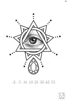 236x354 All Seeing Eye Eye, Tattoo And Tatting