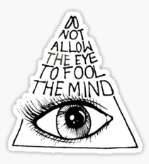 210x230 All Seeing Eye Stickers Redbubble