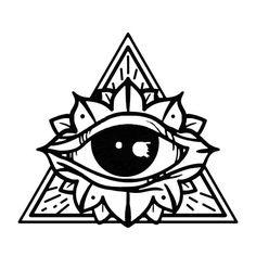 236x236 Triangle Eye Tattoo By Guilherme Hass, Via Behance Tattoo