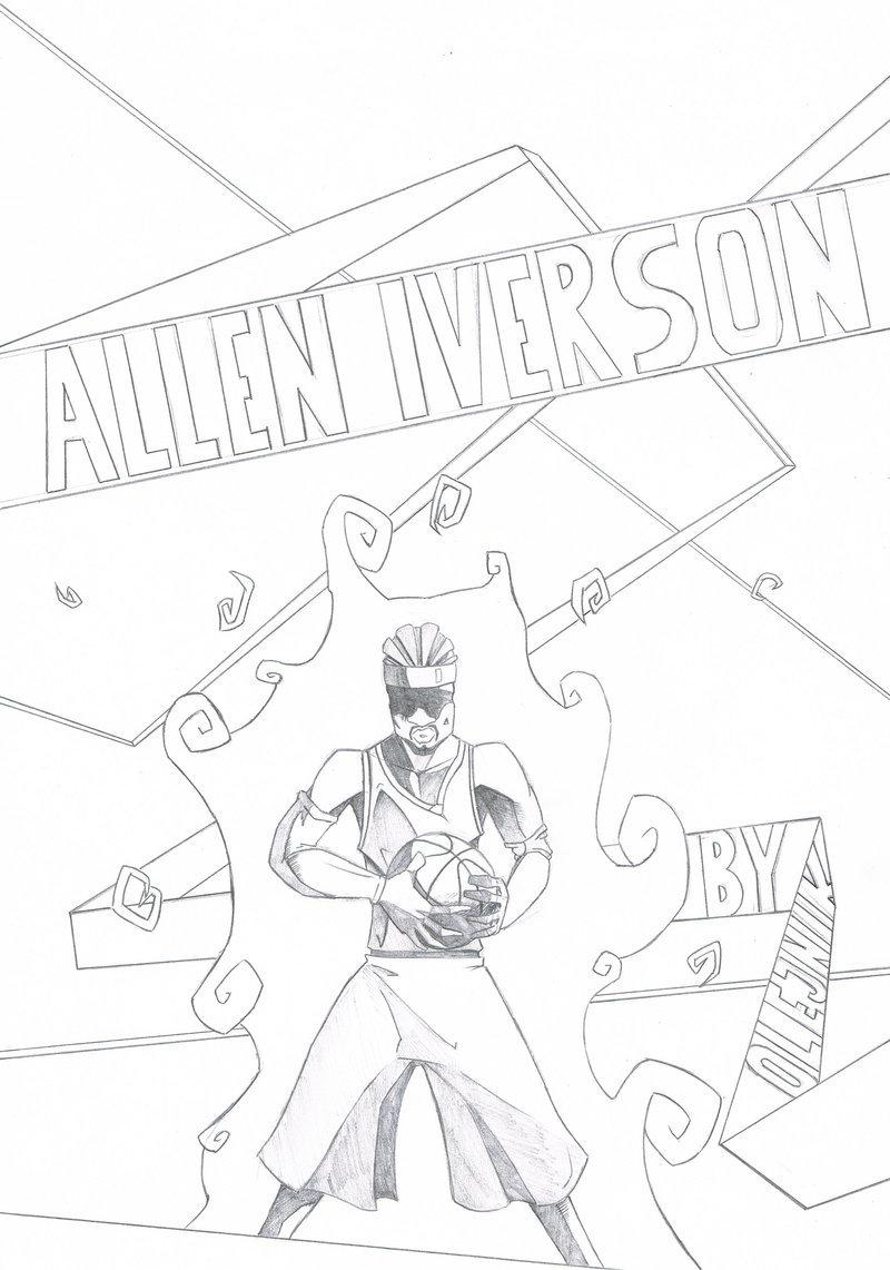 800x1141 Allen Iverson By Trey0