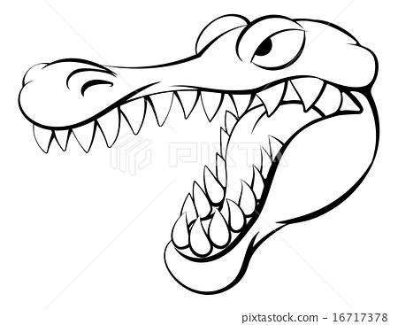 450x367 Alligator Or Crocodile Cartoon Character