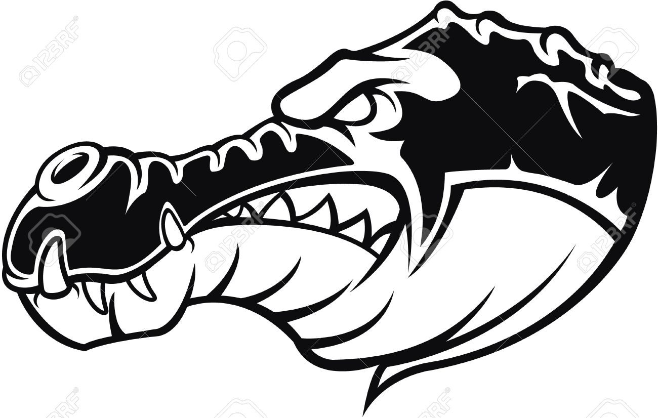 1300x826 Crocodile Symbol Illustration Royalty Free Cliparts, Vectors, And