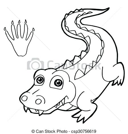 450x470 Best Crocodile Coloring Pages Print Coloring Pages