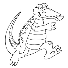230x230 Top 25 Free Printable Alligator Coloring Pages Online