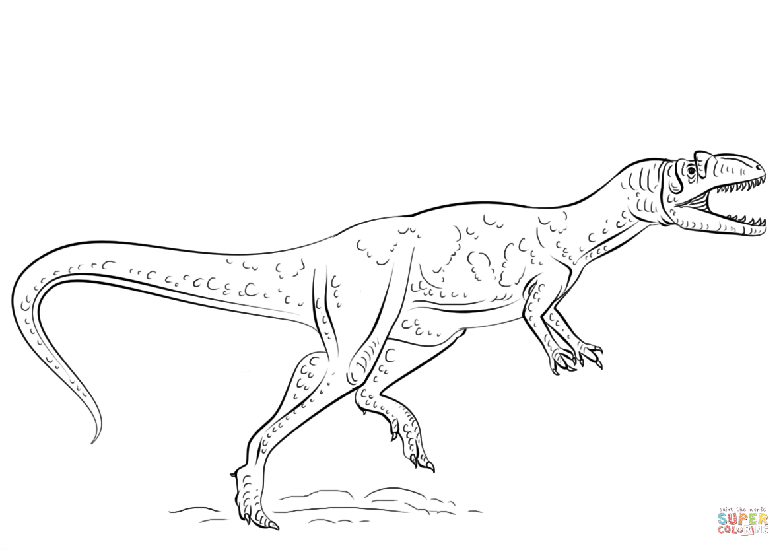 Gemütlich Frei Druckbare Dinosaurier Malvorlagen Zeitgenössisch ...