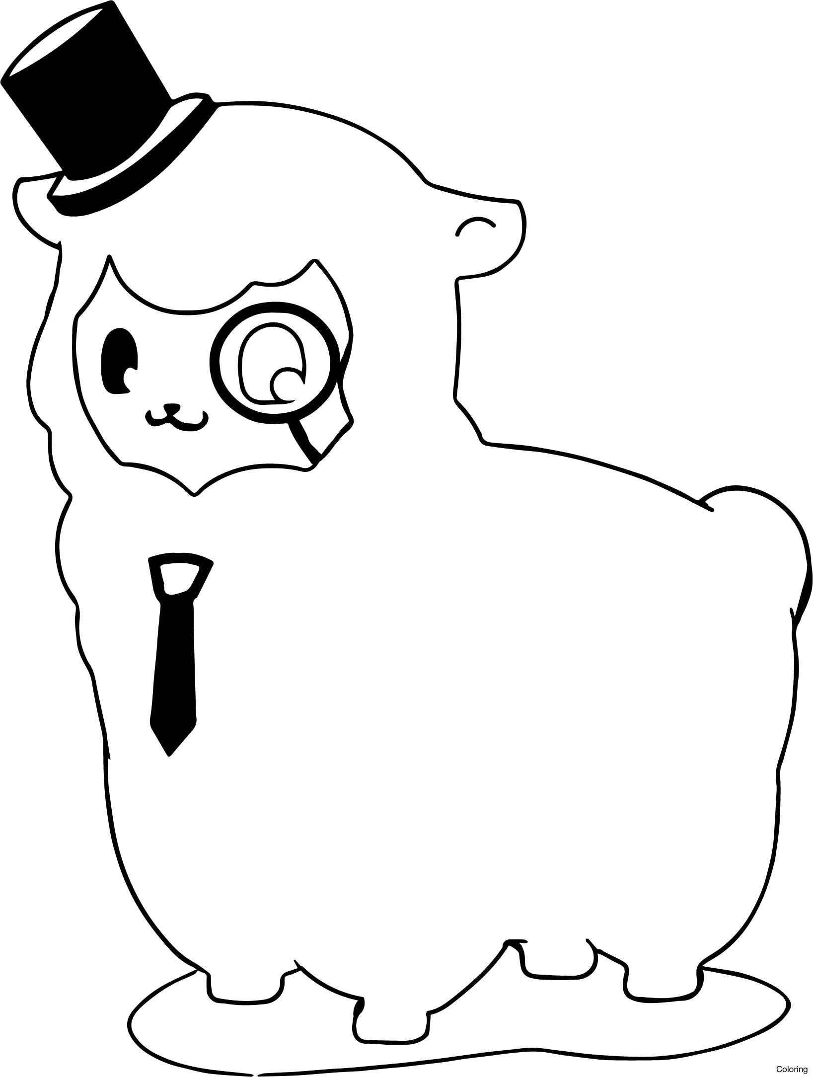 1637x2168 Llama And Alpaca Coloring Page Pages 0f Baby Free Diaiz