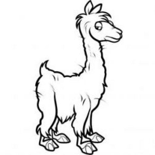 512x512 Alpaca Travels