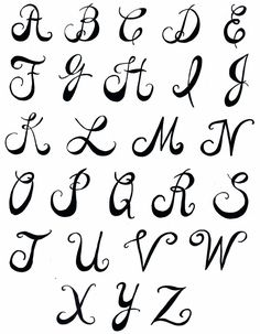 236x303 Fun Printable Alphabet Letters Use Some Of These Amazing Letter