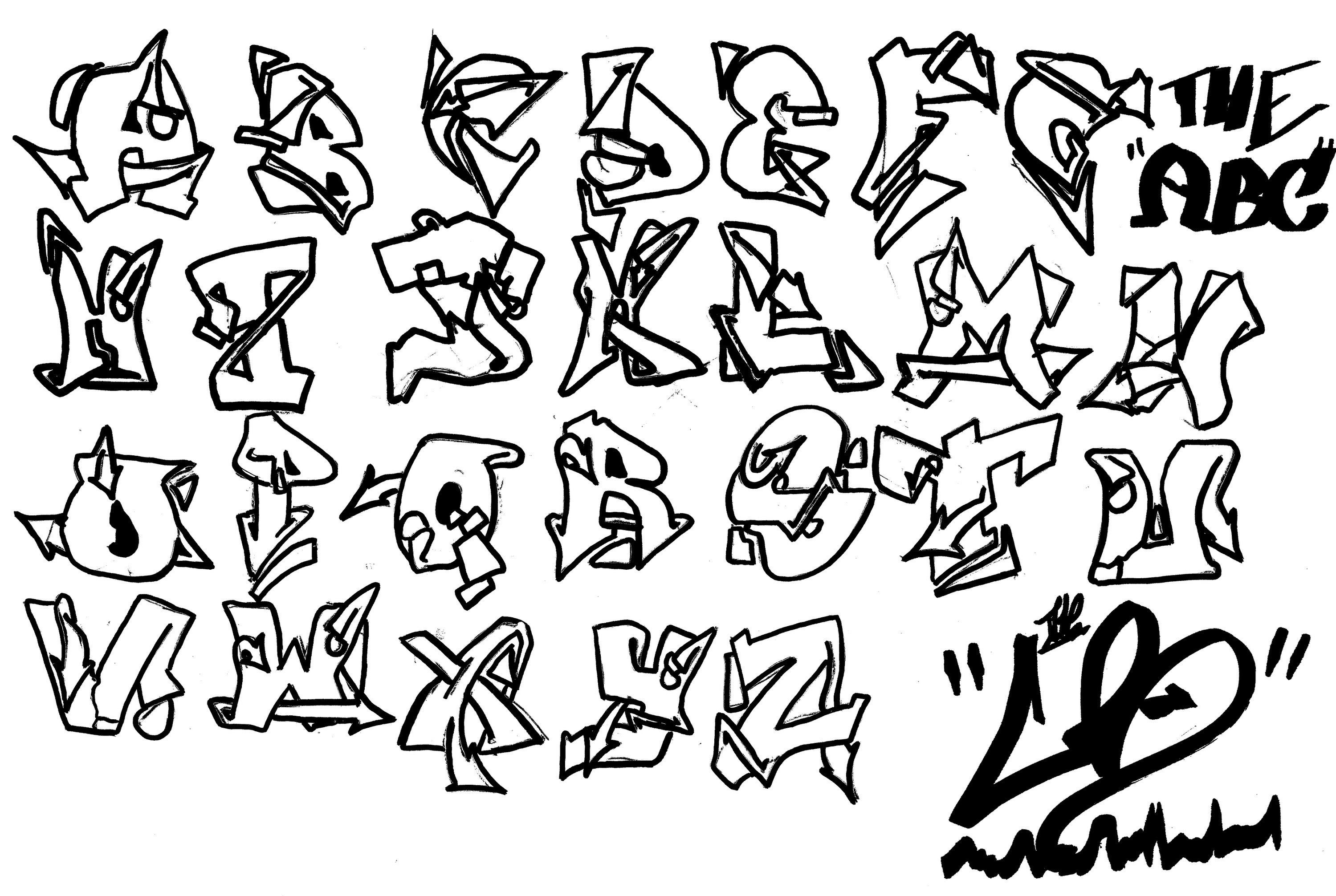 Alphabet Drawing At Getdrawings Com Free For Personal Use Alphabet
