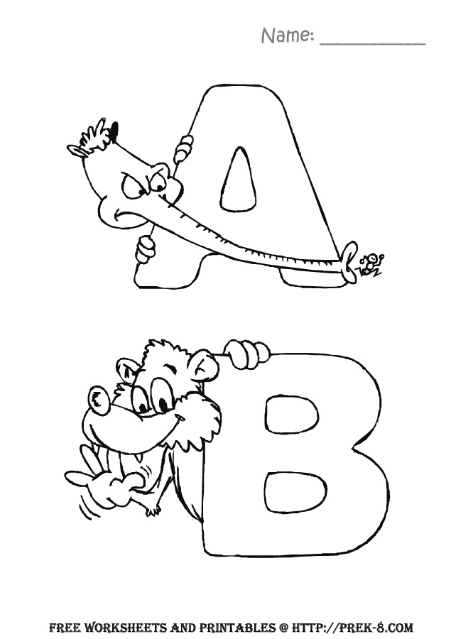 666x900 Preschool Back To School Activities Free Alphabet Zoo Animals