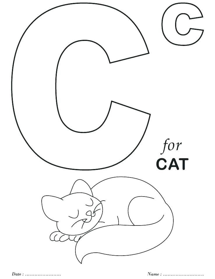 738x954 Alphabet Coloring Book