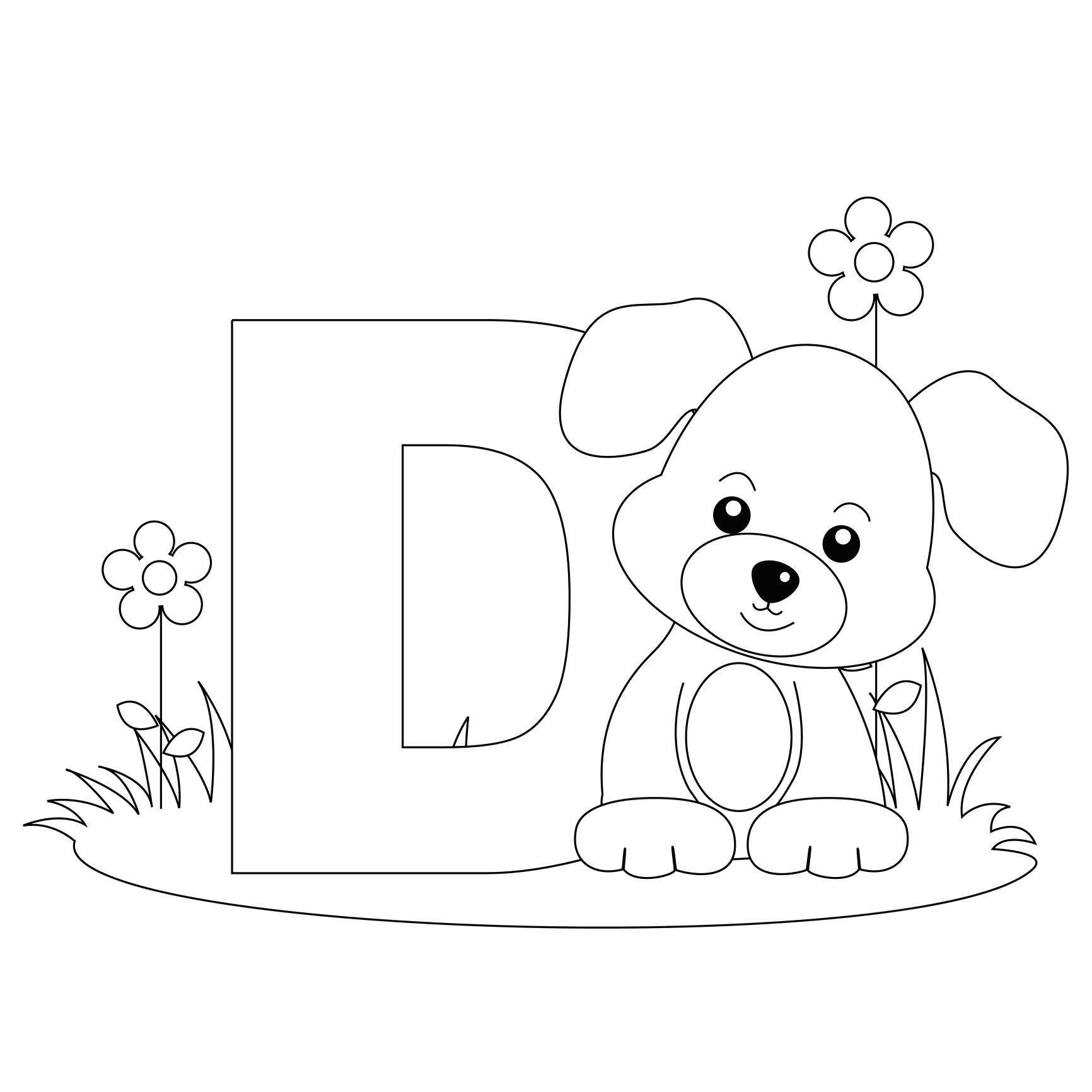 1732x1732 Coloring Printable Abc Coloring Pages Letter Page Alphabet