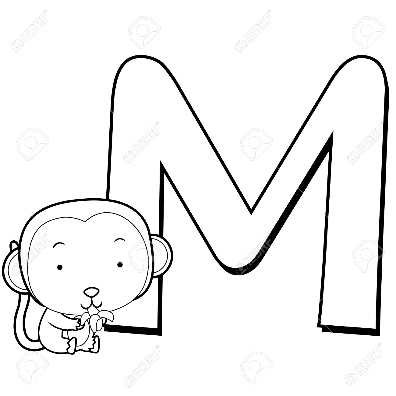 1300x1300 Alphabet Drawing For Kids
