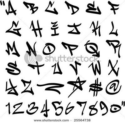 400x396 Draw Graffiti Letters Alphabet Label Graffiti Numbers Ideas