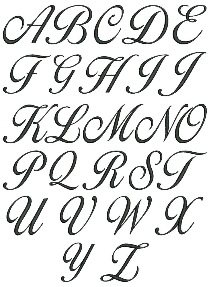 736x999 Fancy Alphabet Letters To Draw Letters Example