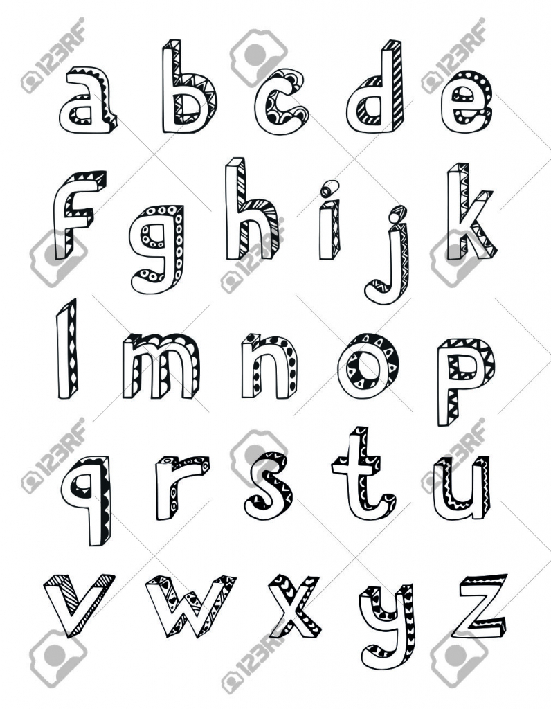 alphabet letters drawing at getdrawings com free for personal use