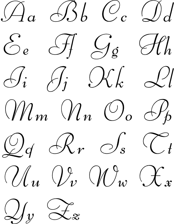 600x771 Pretty Alphabet Letters To Draw Theveliger