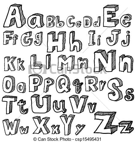 450x470 Cool Letters Alphabet To Draw Example