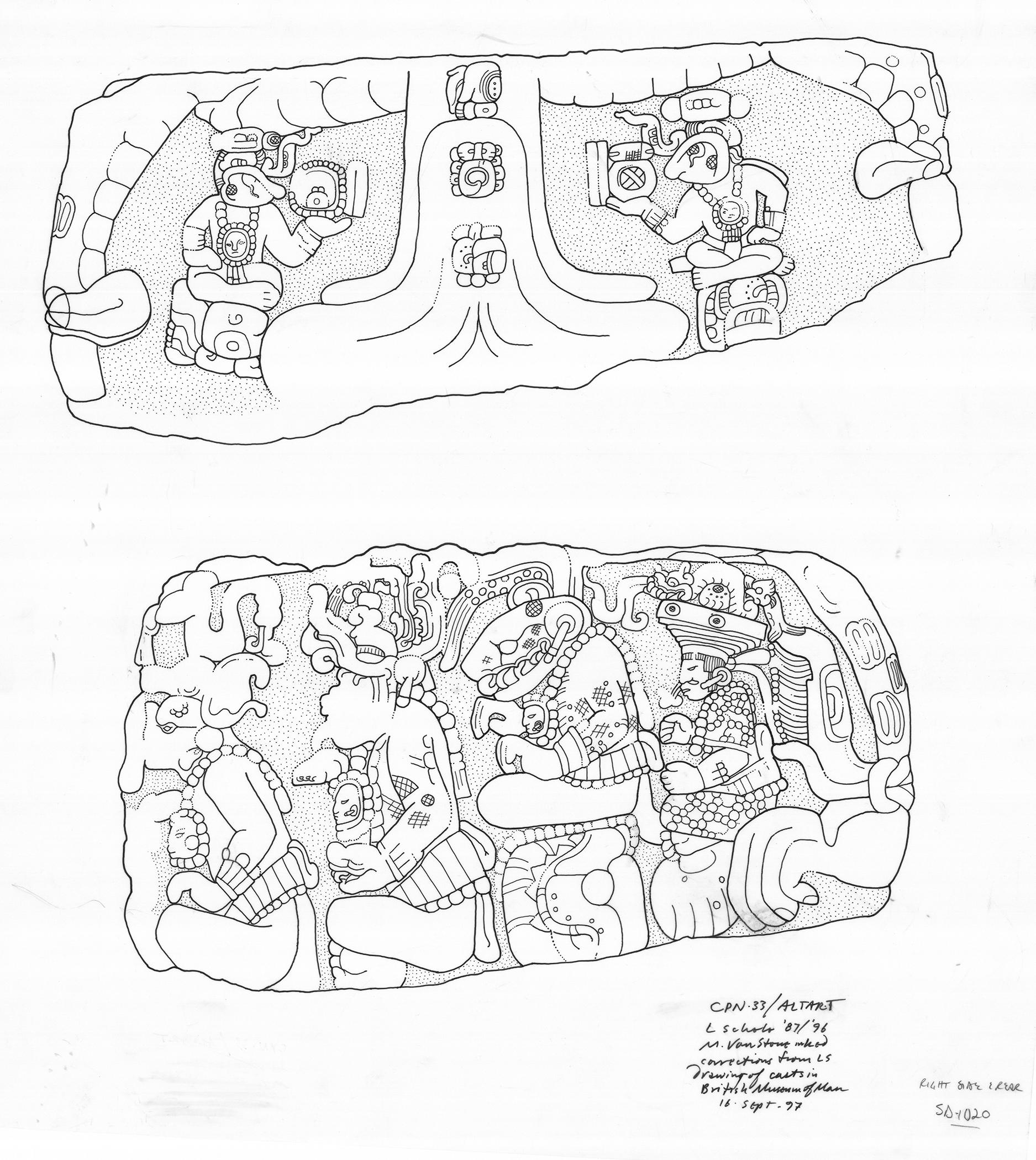 Altar Drawing